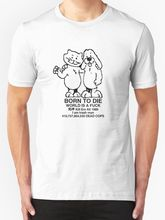 ФОТО really cool t shirts short sleeve gift crew neck mens born to die, world a fvck shirts