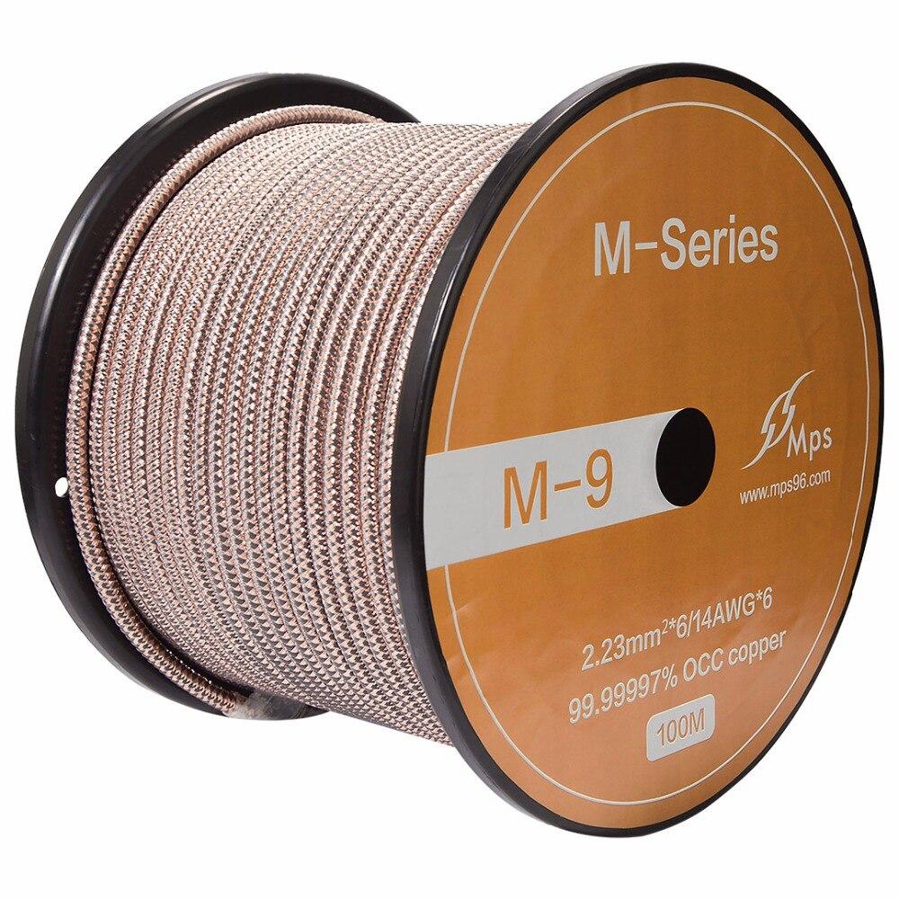 MPS M 9 99.9999% 6N OCC koper HiFi Audio kabel XLR kabel CD DVD Versterker audio draad RCA balance XLR AC power audio kabel op AliExpress - 11.11_Dubbel 11Vrijgezellendag 1