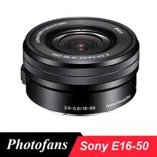 Sony 16-50 объектива E 16-50mm f/3,5-5,6, OSS объектив для sony A5000 A5100 A6000 A6300 A6500 A6400
