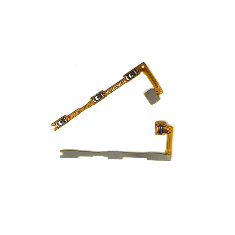20pcs/lot Power On/Off Key + <font><b>Volume</b></font> Up/Down Side Button <font><b>Flex</b></font> Cable for Xiaomi Max Mi Max Cell <font><b>Phone</b></font> Replacement