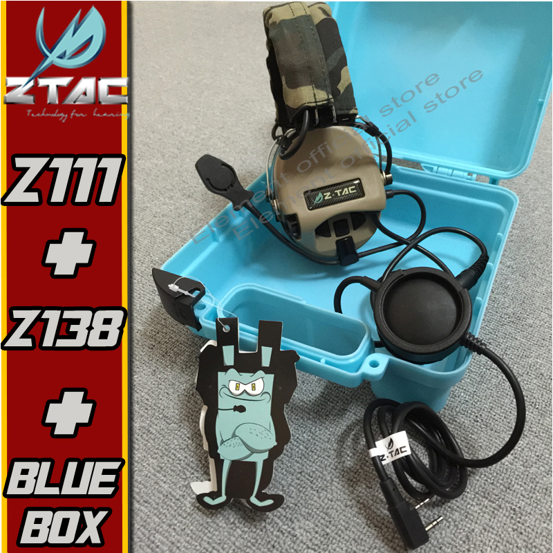 Z-TAC Z-Tactical Sordin Headset Tatical Military Radio Airsofit tactical headset IPSC Softair Arsoft Hunting Ptt Midland Kenwood z tactical military headset headphone airsoft radio comtac ipsc od for ptt military radio z 111