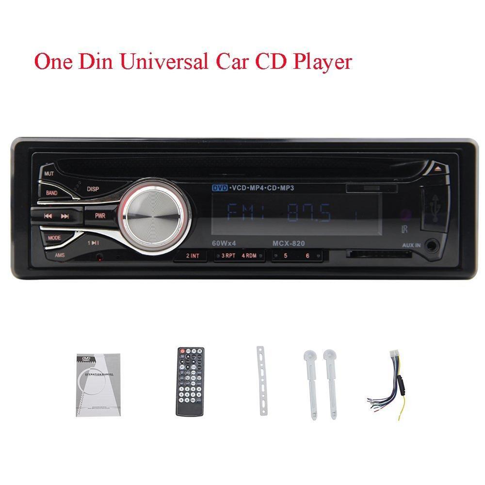 1 DIN Reproductor de dvd Del Coche 1din Coches Reproductor de Radio Estéreo auto