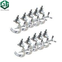 10 pz/lotto luci in alluminio gancio LED Par ganci attrezzature da palcoscenico professionale Led Stage Light Truss Dj Club Light Hanging Hook