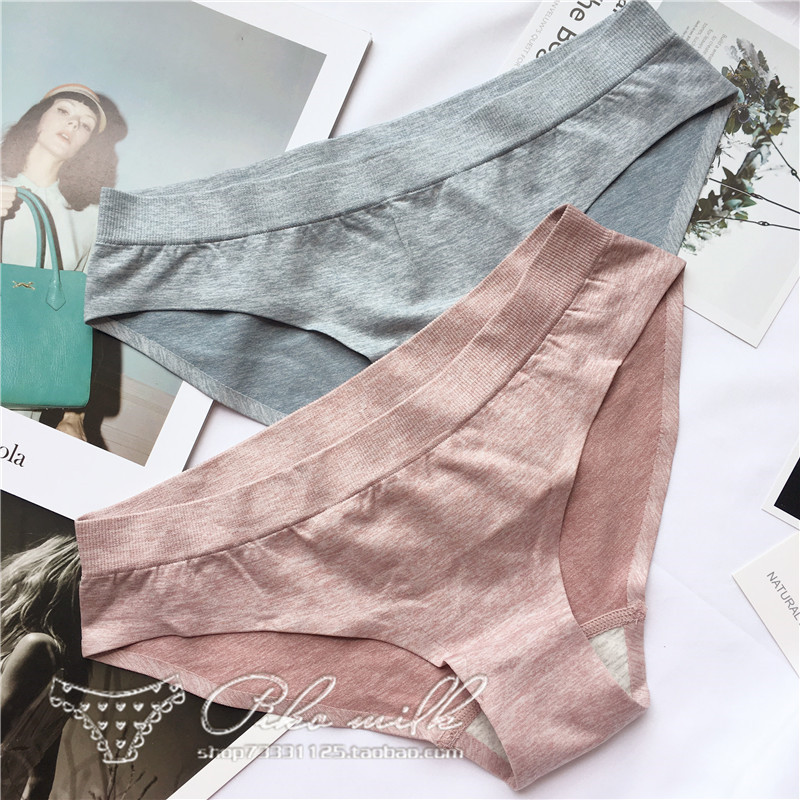 HUI GUAN Classic Cozy Simple Pure Color Women Underwear   Panties   Traceless Seamless   Panties   Breathable Soft Sexy Female Lingerie