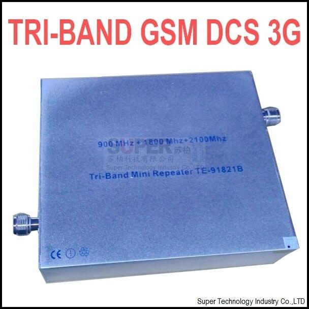 27 dbm ganho 65 dbi triband GSM DCS 3G impulsionador repetidor TRI-bandas impulsionador DCS repetidor 3G impulsionador gsm repetidor GSM IMPULSIONADOR