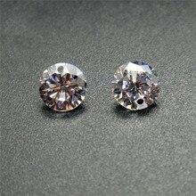 50pcs/lot Cubic Zirconia Stone Beads with Single/Double Hole 4~8mm AAA Grade CZ Stone Zircon Beads For Jewelry Making X7-M2 yoursfs романтические серьги для ювелирных изделий для свадьбы элегантный золотой серебристый цвет aaa cubic zirconia stone earring