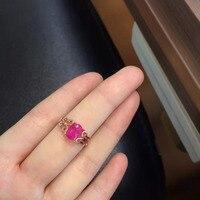 2017 Ци xuan_fashion jewelry_red камень простые элегантные женские rings_rose золото Цвет модные rings_manufacturer непосредственно продаж