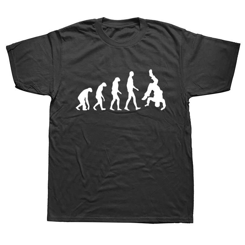 Eat Sleep Break Dance Evolution Breakdance T Shirts Men Summer Cotton Harajuku Short Sleeve O Neck Streetwear Black T-shirt