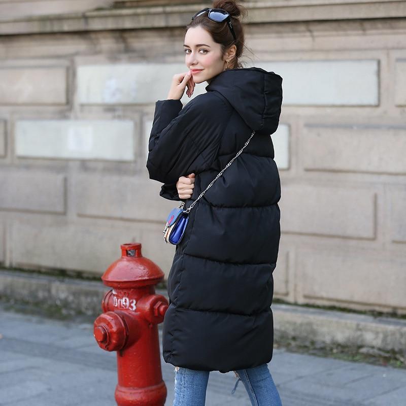 Novi Zadebljavanje 2018 žene Parka zimske jakne kaput dolje plus - Ženska odjeća - Foto 5