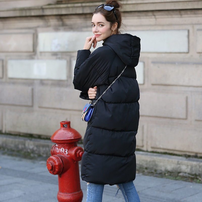 New Thickening 2018 kvinder Parka vinterjakke frakke plus størrelse - Dametøj - Foto 5