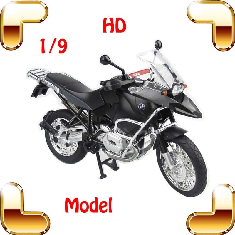 Nouvelle Version cadeau 1/9 grand modèle de course moto alliage modèle moteur moulé sous pression Collection métal voiture moto présente échelle de modèle
