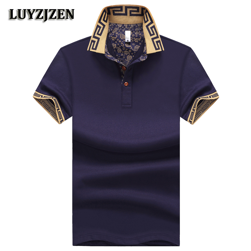 Poloshirts Men 2018 New Arrival Male Cotton Casual Summer Short Sleeve Business Polo Shirts Classical Polos High Quality K26