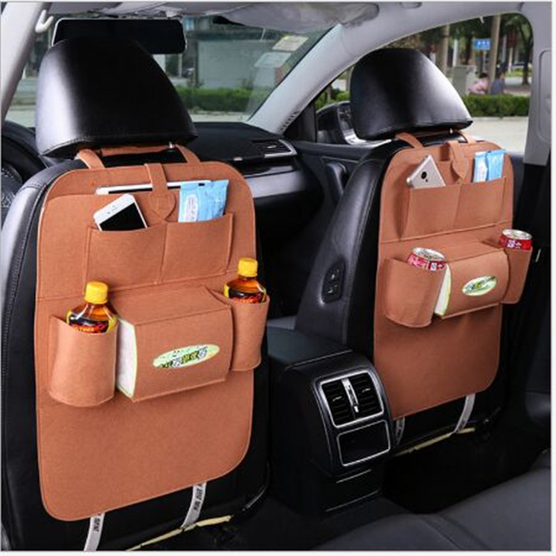 Car Storage Bag  Back Seat for Kia Rio K2 K3 5 Sportage Ceed Sorento Cerato Soul Buick Hyundai Tucson 2016 Accent Ix35 Accessori 4pcs set smoke sun rain visor vent window deflector shield guard shade for hyundai tucson 2016