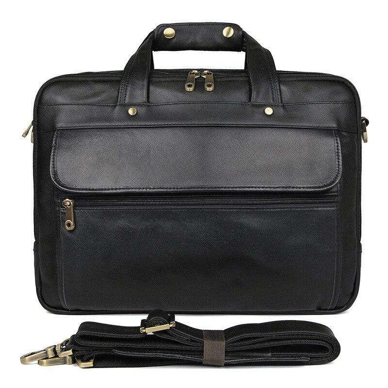 30d7537fbbc0 Винтаж Crazy Horse пояса из натуральной кожи сумка юрист для мужчин мужские  портфели мужская сумка для