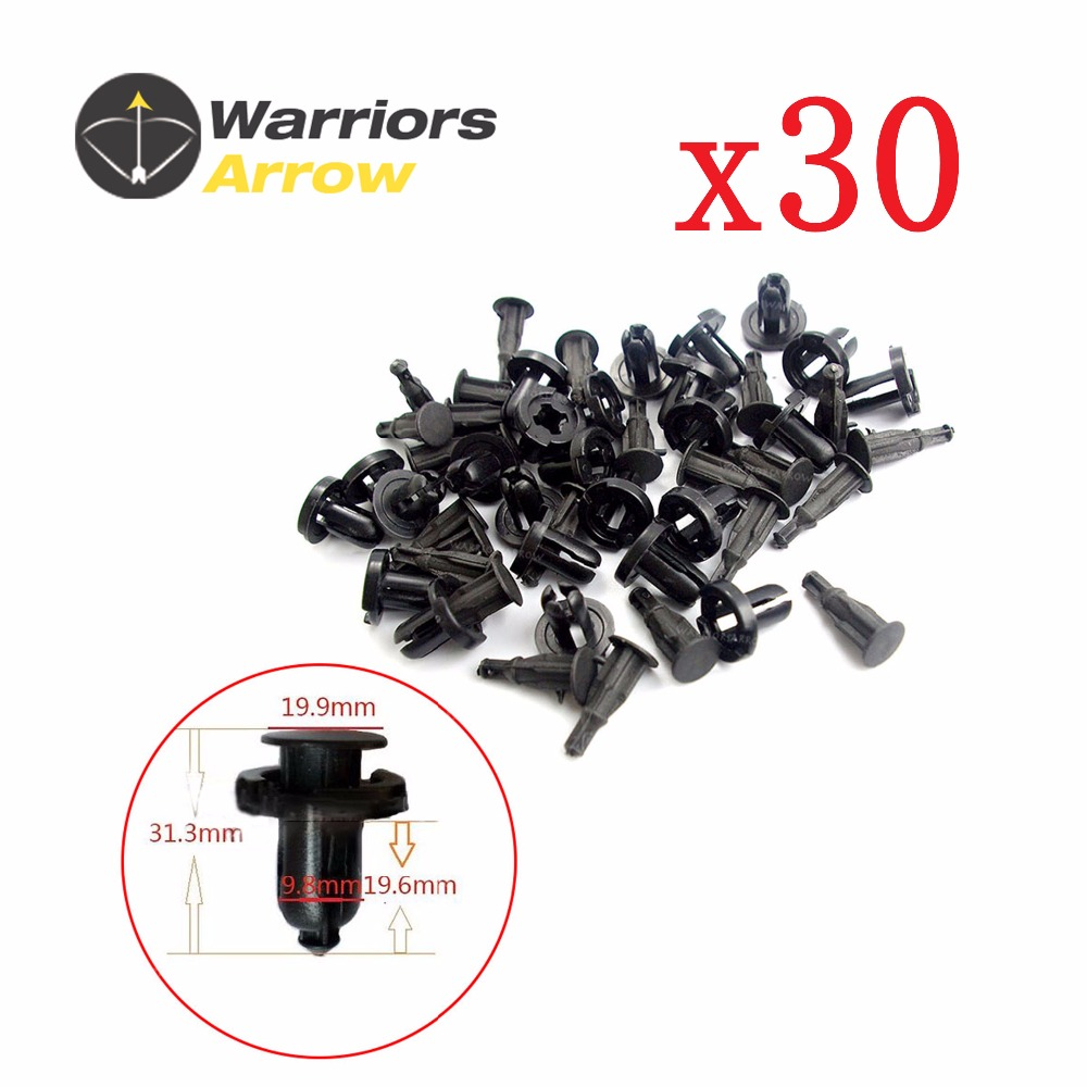 10 Pc Front Rear Bumper Clip Retainer For Honda Civic Accord Odyssey Integra RSX