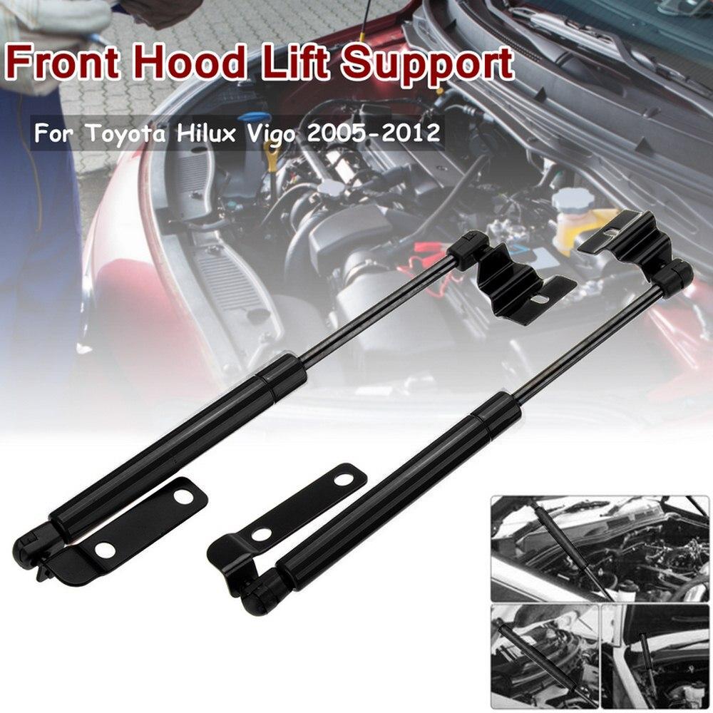 1 Pair car Front Hood Bonnet Gas Shock Strut Damper Lift Kit For Toyota Hilux 2005-2012 Car accessories Car-Styling (01)