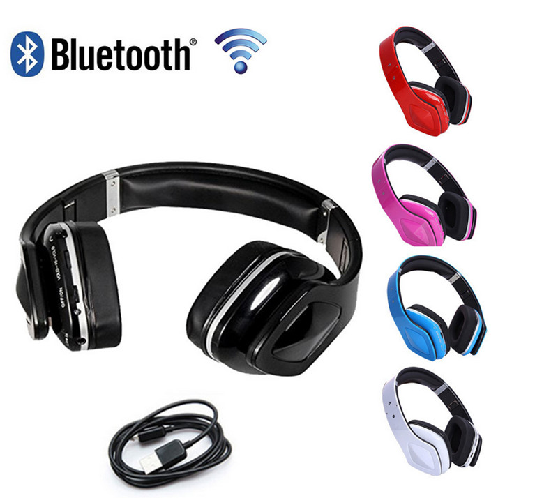 SKY-001 Wireless Bluetooth Headphones Earphone Stereo Fold Sport Gaming Headset with Microphone for PC and Phone 5 Color remax rb s6 wireless bluetooth earphone headphones with microphone sport stereo bluetooth headset for iphone android phone