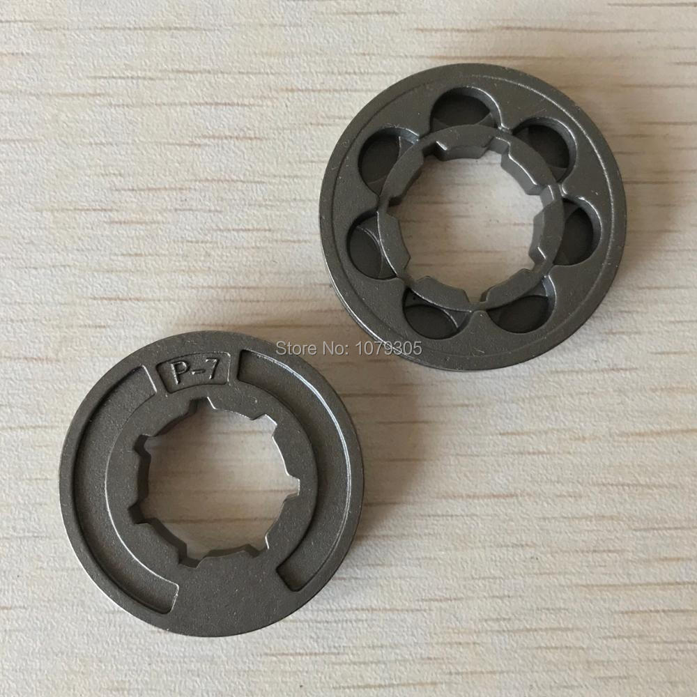 2PCS P-7 Chainsaw Rim Sprocket Kit For STIHL 017 018 021 023 025 MS170 MS180 MS230 MS210 MS250