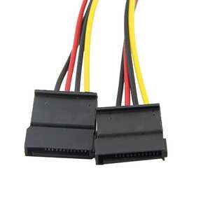 Hard-Drive Cable Power-Supply ATA Sata-Y-Splitter 4pin Ide Molex 2-Serial 18sep21 To