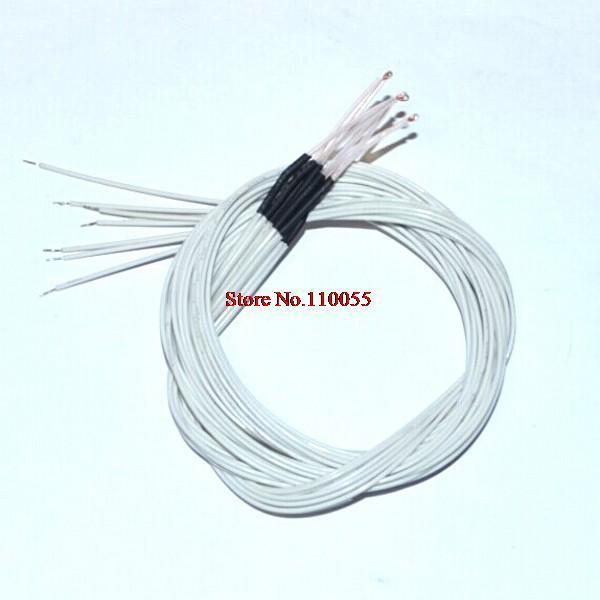 5 Adet/grup için kablo ile 100 K ohm NTC 3950 Termistörler 3D Yazıcı Reprap Mend