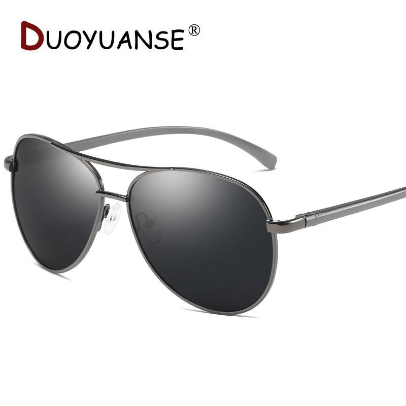Nya män klassiska polariserade solglasögon aluminium magnesium - Kläder tillbehör - Foto 3