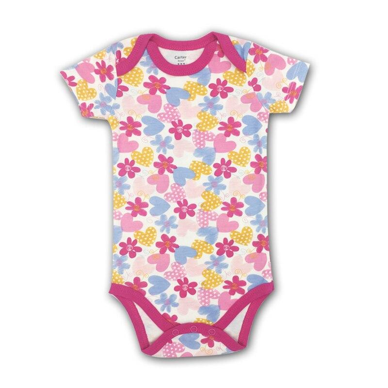 Baby body Meisjes babykleertjes Zomer baby korte mouw Jumpsuit - Babykleding - Foto 6