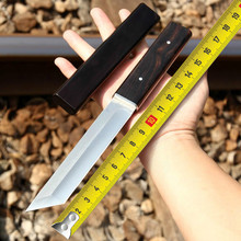 Japanese Tactical Knives Fixed Blade Knife Survival Rescue Tools Hunting Knives Corrosion Resistance Hunting Combat Outdoor Tool цена в Москве и Питере