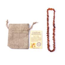 WinWinWin Natural Ambar Cognac Color Beads Unpolish Beans Raw Handmade Baltic Ambar