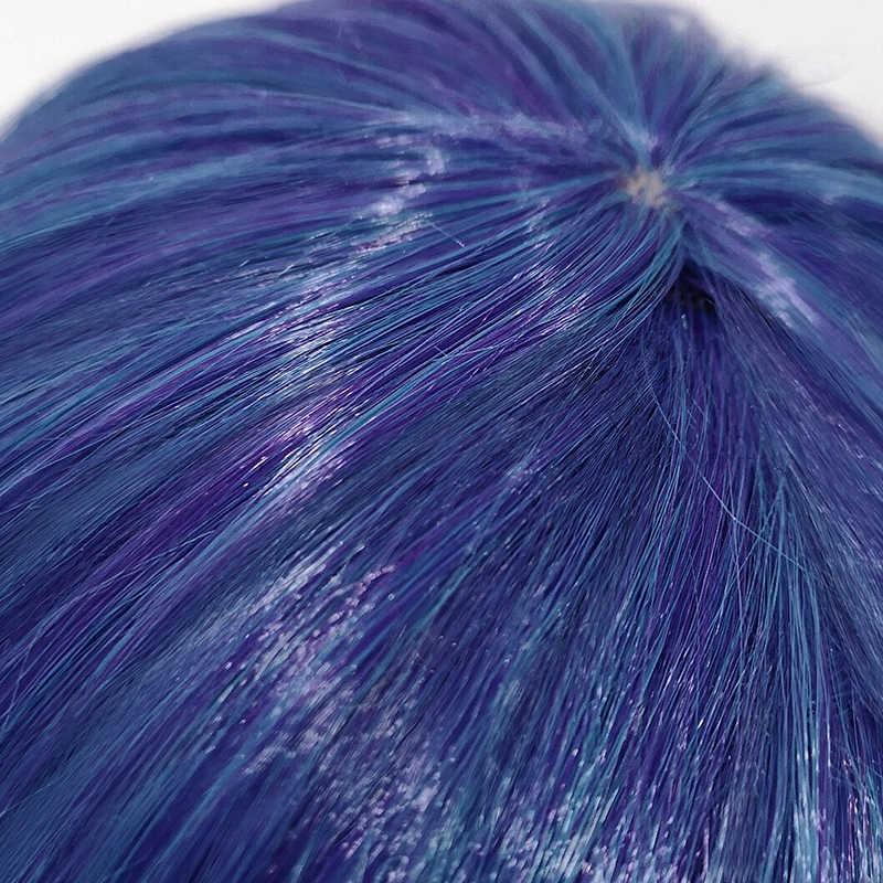 L-email, парик LOL Neeko для косплея, карнавальный костюм Хамелеона, термостойкий синтетический волос