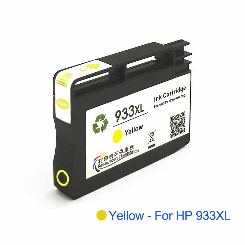 932XL 933XL متوافق ل HP 932 933 932XL 933XL الحبر محبرة لـ HP Officejet 7110 6100 6600 7510 7512 7612 7610 7612 طابعة