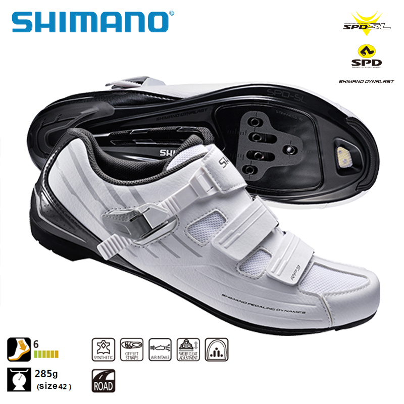 SHIMANO SH RP3 SPD SL Road Bike Shoes Riding Equipment Bicycle Cycling Locking Shoes Road Racing MTB west biking bike chain wheel 39 53t bicycle crank 170 175mm fit speed 9 mtb road bike cycling bicycle crank