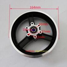 Dobrej jakości 10 cal elektryczny koło do skutera hub 10 cal obręcze kół ze stopu aluminium 10x2 10x2.125 10x2.50 10x2.25 opony felgi