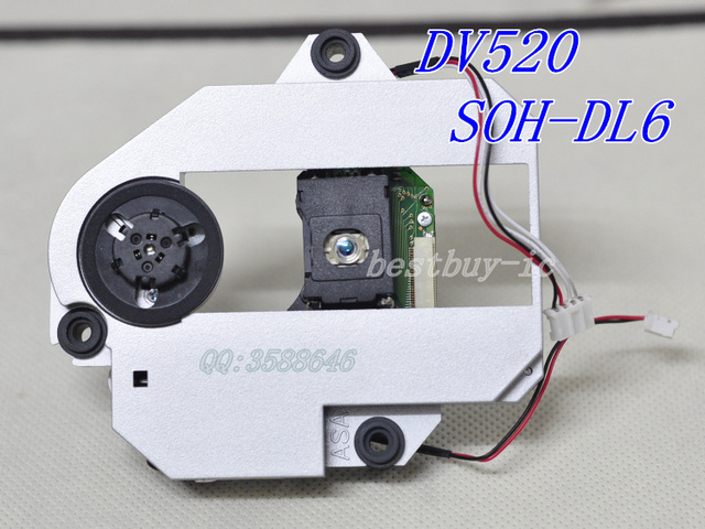 Optical DV520 SOH-DL6  DL6FS  WITH DV520 MECHANISM DL6 PLASTIC MECHANISM DVD laser lens