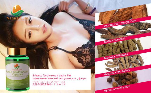 NaturalCure Mujer Arouser Libido Caps-dulos, mejoran la Mujer Lujuria Drive, lubricar la Vagina, obtener Más Placer Sexual