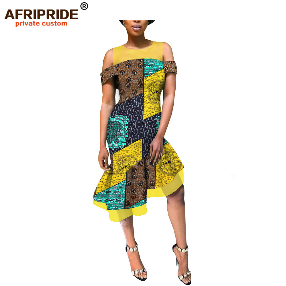 2019 summer casual african dress for women afripride