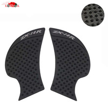 Motorcycle Traction Pad Anti slip Tank Pad Sticker Grip for Kawasaki Ninja ZX14R 2006 2007 2008 2009 2010 2011 2012 2013 14 2015 цена 2017