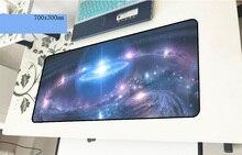 Galaxy геймерский коврик для мыши Бестселлер 700x300x3 мм игровой коврик для мыши дешевый ноутбук аксессуары padmouse эргономичный коврик