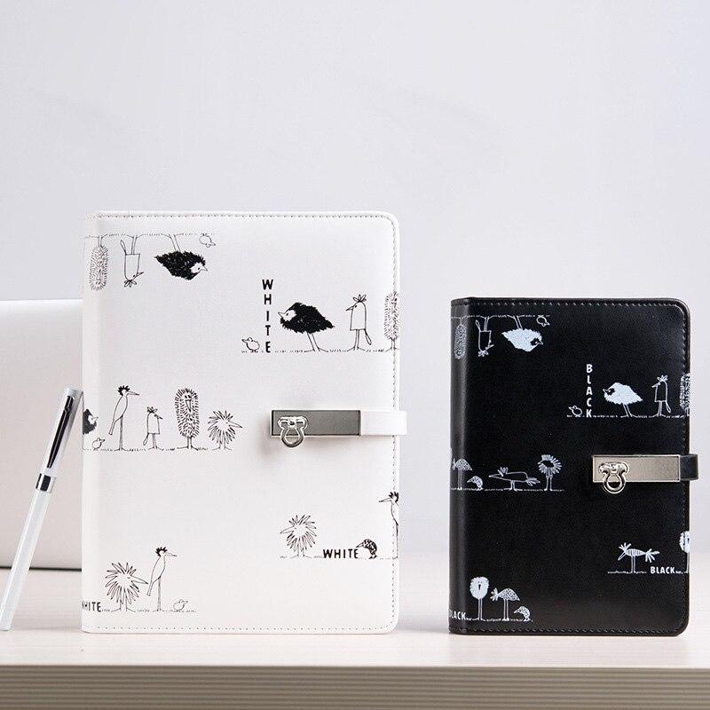 2019 A5 A6 Notebook Kreatív kézi könyvek laza a naplófüzetből, - Jegyzettömbök és füzetek - Fénykép 3