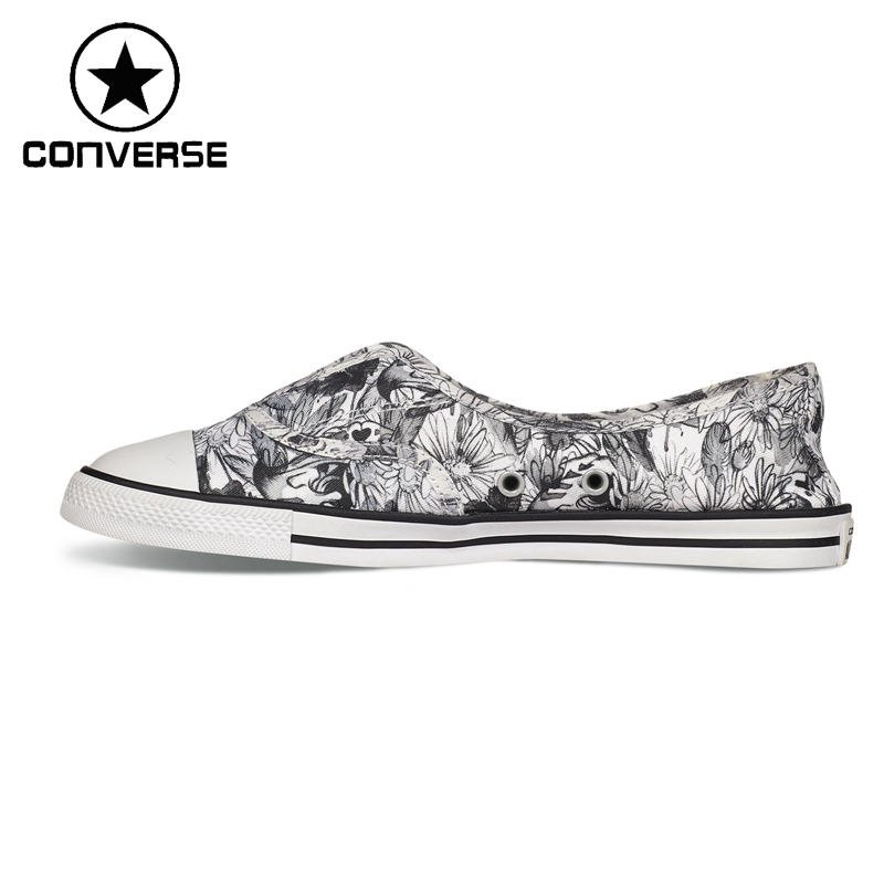 ФОТО Original New Arrival  Converse ALL STAR Women's Printed Skateboarding Shoes Canvas Sneakers
