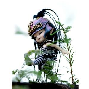 Image 5 - Freies Verschiffen Märchenland Realpuki AKIa1/13 Puppe BJD Rosa Lächeln Elfen Spielzeug für Kinder Geschenk für Jungen Mädchen Geburtstag