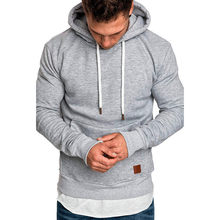 Hoodies Men 2018 Autumn Fashion Brand Pullover Solid Sportswear Sweatshirt Moleton Hip Hop Male Casual Tracksuit Winter WS&&40(China)
