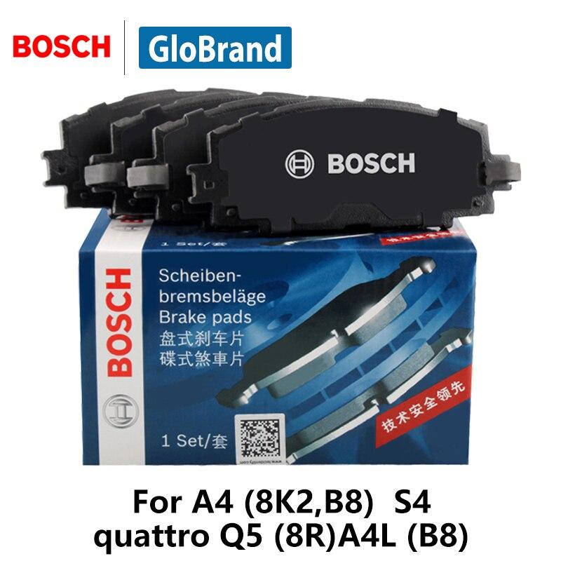 4pieces/set BOSCH Car Brake Pads Rear For AUDI A4 (8K2,B8) S4 quattro Q5 (8R)A4 (B8) 0986AB1590 ...
