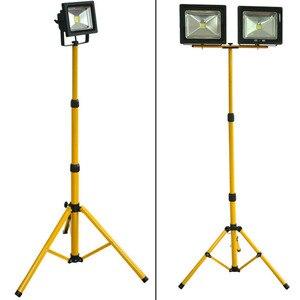 Image 5 - BSOD ayarlanabilir projektör Tripod LED aydınlatma standı LED projektör için kampı çalışma acil durum lambası çalışma ışığı Tripod sarı