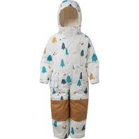 Moomin 2019 new design warm thick children winter down overall white duck down soft waterproof Zipper Fly Cartoon sky jumpsuit