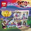 Lepin 01046 Friends Girl Series 644pcs Building Blocks Kids Toys Livi S POP Star House Designer