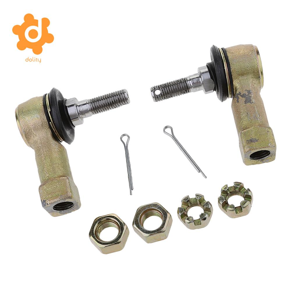 2 Sets Tie Rod End Kit for Honda TRX250 FOURTRAX 250 1985 1986