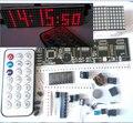 Kit de peças de reposição 0730LED dot matrix V2.0 produção relógio digital relógio eletrônico relógio eletrônico digital inteligente