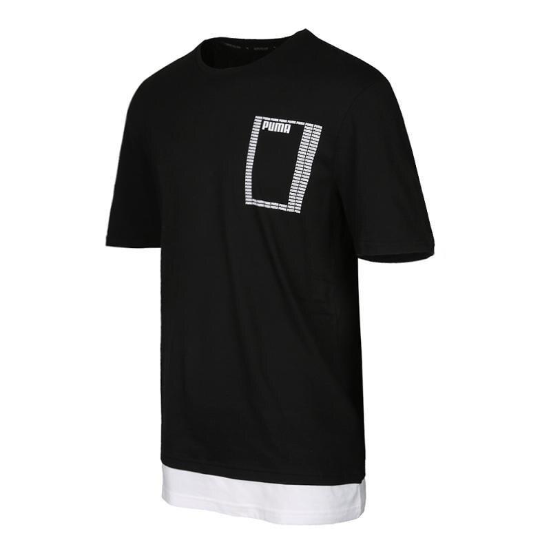 Nouveauté originale Puma été rebelle Logo Tee-shirts hommes manches courtes vêtements de sport - 2
