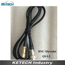 BNC разъем микроточка соединительный кабель(Q9-L5