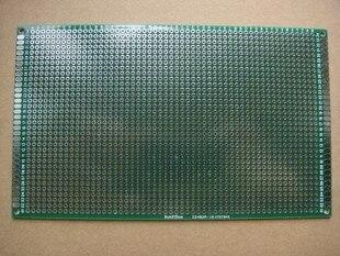 98-19 Бесплатная доставка 2 шт. 9x15 см Односторонний прототип печатной платы универсальная печатная плата